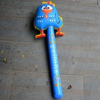 Wholesale The new inflatable chicken rod hammer Inflatable toy hammer Props super sized inflatable hammer activities