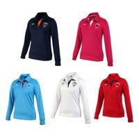 Wholesale PGM Brand Women Outdoor Fit Golf Polo Shirts Long Sleeve Golf T shirts Clothing Autumn Winter Leisure Sport Collar Shirt