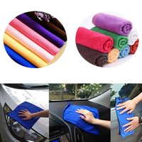 Wholesale Pc Hot Microfibre Detailing Waxing Polishing Cloth Car Cleaning Scrubing Towel Soft