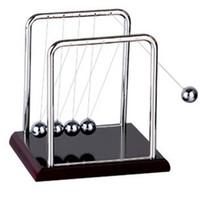 balance ball kit - Newton Balance Ball Physic Educational Supplies Cradle Steel Teaching Science Desk Toys kit For Kids Fun Toys T0427 P20