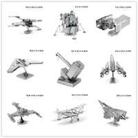 best architectures - Best Price Metallic D Puzzle Model Miniature MJOLNIR Fighter Vehicle Insects Architecture Bridge D Jigsaw Puzzle Toys for Gift