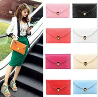 Wholesale Womens Fashion Ladies Envelope Clutch Chain Purse Wallet Tote Shoulder Handbag Women Tote Purse Bags color KKA1200