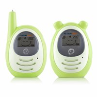 baby radio toy - New Summer Portable Infant Baby Wireless Audio Monitors Radios Nanny Electronic Babysitter Digital Baby Toy Phone