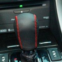 achat en gros de honda spirior-XuJi Housse de changement de vitesse en cuir véritable noir pour Honda Spirior 2009-2013 Automatique