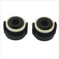 Wholesale Series Hid Bulb - 2PCS Car H7 HID Xenon Bulbs Holders Adapters Socket Black Color for BMW E46 Series 3