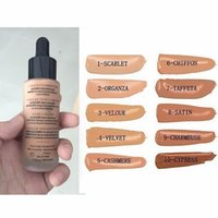 Wholesale NEW unique Touch Mineral Liquid Foundation Professional Makeup Foundation Waterproof Face Concealer Liquid in stock