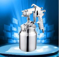 Wholesale 2017 hot product PQ pneumatic mm puzzle size spray gun under the pot of pneumatic tools household spray paint spray gun