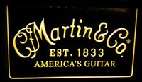 Wholesale LS389 y Martin Guitars Acoustic Music LED Neon Light Sign jpg