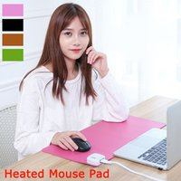 big mouse computer - Winter warm heated mouse pad large pad to mouse notbook computer mousepad gaming mouse mats cm big desk pad