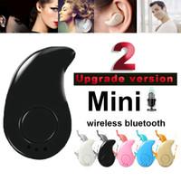Wholesale New S540 Bluetooth Headset Wireless Sports Headset Upgrade version In Ear Universal Mini Stealth Bluetooth Headphone earphone