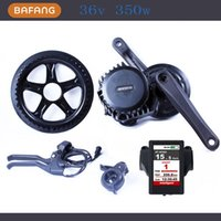 Wholesale 36v w fun bafang Motor BBS01 Latest Controller Crank Motor Eletric Bicycles Trike Ebike Kits New Display