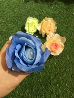 Wedding Display Flower Rose Spring roses flower wedding simulation flower head wholesale DIY hand