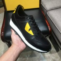 Wholesale Hot yellow eyes little monsters Top quality All cowhide stitching Men s casual shoes Luxury brands