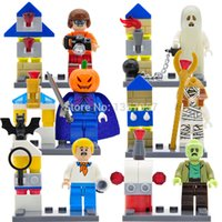 Wholesale Bela Scooby Doo Minifigures Star Wars Super Heroes Ninja Mini Figures Building Blocks Sets Models DIY Toys For Children