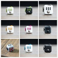 Wholesale Novelty Fidget Cube Toy Stress Relief Focus For Adults and Children Decompression Anxiety Toys free ship