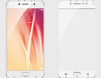 Wholesale For Vivo x7 toughened glass cover silk screen mm mobile phone protection film membrane vivox7 full screen without retail package VIADHL