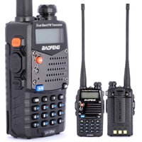 Wholesale 2017 New walk talk Pofung Baofeng UV RA For Police Walkie Talkies Scanner Radio Vhf Uhf Dual Band Cb Ham Radio walkie Transceiver