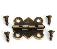 Wholesale Special Design Cabinet Door Hinge Holes Butterfly Bronze Tone mm x17mm Door Hinges Door Hardware