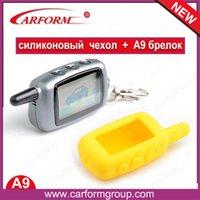 Wholesale two way car alarm system Starlionr A9 LCD remote silicone case Starlionr A9 way LCD remote silicone case