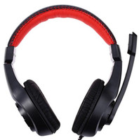 Cheap Lupus G1 Gaming Headphones 3.5mm Surround Stereo Headset Headband Headphone with Mic for PC Laptop Low Bass Wired Headset