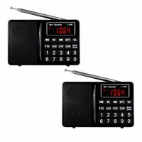 best multimedia player - FM AM SW Radio Bass Sound MP3 Music Player Multimedia Mini Speaker Multiband Radio Receiver Best Y4405