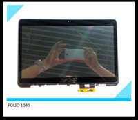 Wholesale original For HP Elitebook Folio G1 quot Laptop screen B140HAN01 with touch Digitizer frame MCF COF