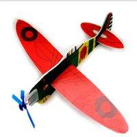 Planeadores de bricolaje Baratos-Rompecabezas Juguetes DIY Volar Planeador Plano Juguete Educativo Montado Aviones Modelo Larning Novedad Inteligencia Juguetes Juguetes Aeroplano Juguetes DHL