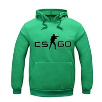 alternative sweatshirt - New Arrivals Fashion CS Go Alternative colors Hoodie Jacket Hoodie Soft Cotton Fleece Printed Pattern Sweatshirts Hip hop