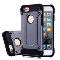 Armor Tough Cell Phone Case Back Cover Protecteur Silicone PC pour les cas Inch Housse de protection DHL