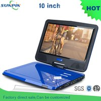 Wholesale New Arrival Inch Blue Portable Dvd Player And Misic Video Support For Sd Ms Mmc Card