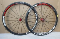 Wholesale White red c rim mm carbon road bike wheels with powerway R13 hubs full carbon wheelset carbon fiber clincher wheelset mm width