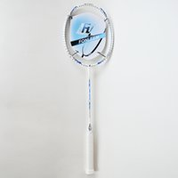Wholesale PRO WHITE Badminton Rackets Lbs U Graphite Carbon PRO WHITE Offensive Type G4 Super Soft Badminton Rackets