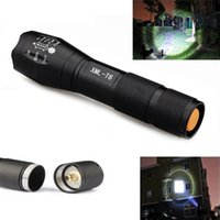 Wholesale LED Flashlight CREE Tactical Emergency Nightlight Telescoping Aluminum Body Magnetized Base Water Resistant Handheld Spotlight For Wo