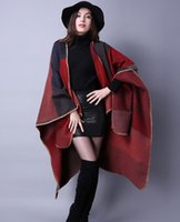 Wholesale Autumn and winter scarf all match Plaid shawl lady travel