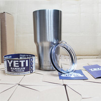 Wholesale Yeti Cups YETI oz New Best Seller Rambler Tumbler Travel Beer Mug Double Wall Bilayer Vacuum Insulated Stainless Steel Mug
