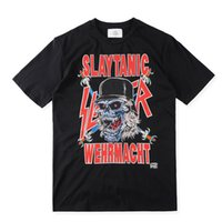 achat en gros de noir métal lourd-Fear Of God 111 T-shirt Heavy Metal Black FOG T-shirts Rock Music Metallica Print T-shirt Unisexe Pour Homme S-XL