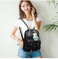 Wholesale Shoulder bag ladies Japan and South Korea version of the leisure female bag students College wind bag autumn new arrival bear