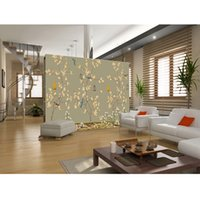 beautiful bird houses - Fashion D Home Decor Beautiful Home Decor Living Room Natural Art flower bird mural d wall papers for tv backdrop