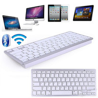 best bluetooth keyboard ipad - 2017 New Best Ultra Slim Wireless Bluetooth Keyboard for IOS Android Windows System Tablet PC Computer IPAD Smartphone