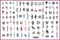 Wholesale Template tattoo golden phoenix NO airbrush tattoo stencils Totem theme picture