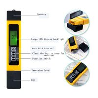 Wholesale Water Quality TDS Tester ppm in LCD digital tds meter Tds Ec and Temp Meter reverse osmosis