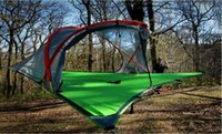 Wholesale Outdoor Tree Tent Camping Tents Person Hanging Hammock D Oxford Cloth Camping Equipment