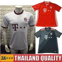 bayer thailand - Thailand Quality Season Bayer Munich Home red Away white Soccer Jerseys Football white training shirts Parley Ocean version