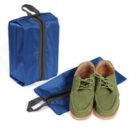Wholesale Shoe Bag Waterproof Nylon Boot Dustproof Organizer Storage Bag Holder Case For Travel Camping Carrying Protect Shoes ZA1747