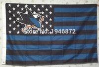 bamboo san jose - San Jose Sharks USA Premium Wordmark Hockey Flag X5FT San Jose Sharks With Star and Stripe Flag