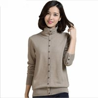 Wholesale Cashmere sweater female pure cashmere sweater sweater s backing false two sets of special package mail