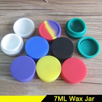 Wholesale Nonstick Wax Containers silicone box Silicon container Non stick food grade wax jars dab tool storage jar oil holder for vaporizer pen vape