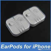 apple earpods headphones - Apple EarPods Earphones Headphones Headset with Mic and Volume Control Crystal Box for iPhone SE c s s Plus iPad IOS