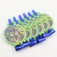 Wholesale Teenage Mutant Ninja Turtles theme blowout for children birthday party decoration blow out table decoration accessories