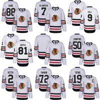 Wholesale 2017 Winter Classic Chicago Blackhawks Jonathan Toews Artemi Panarin Patrick Kane Premier hockey Jersey Mix order size S XXXL